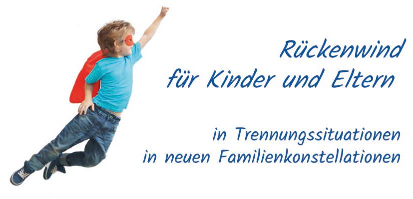 Logo - Rückenwind für Kinder und Eltern